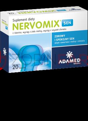 NERVOMIX Sen 20 kapsułek