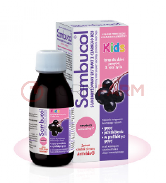 SAMBUCOL Kids syrop 120 ml