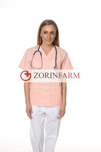 Zorinfarm bluza medyczna losos