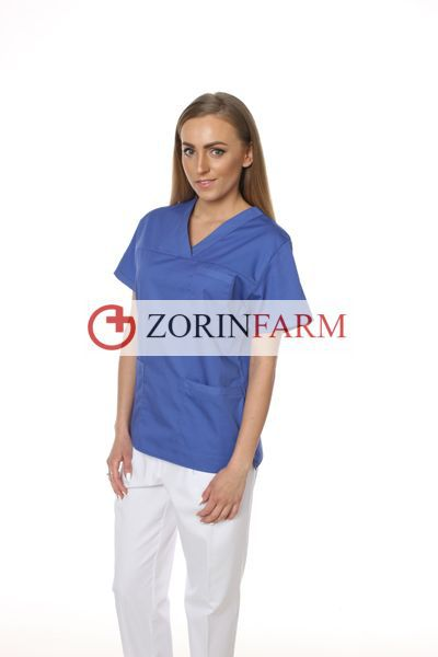 Zorinfarm bluza medyczna niebieska