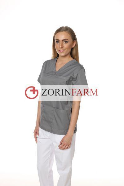 Zorinfarm bluza medyczna szara
