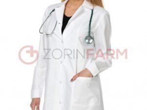 Zorin Farm fartuch labolatoryjny bialy