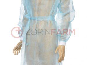 Zorin Farm fartuch jednorazowy niebieski mankiet