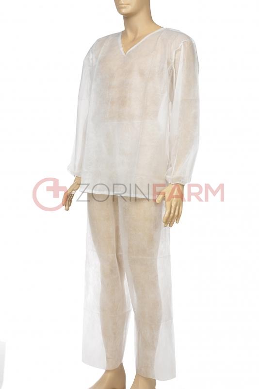 Zorin Farm komplet odziezy bialy