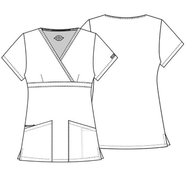 Zorinfarm bluza damska szkic