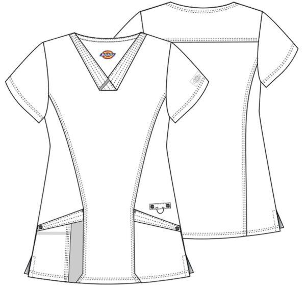 Zorin bluza damska szkic