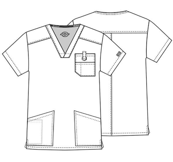 Zorin bluza meska szkic
