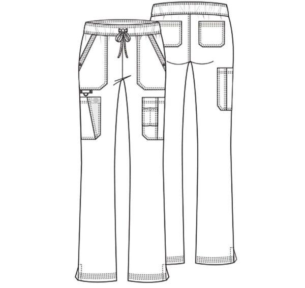 Zorinfarm spodnie damskie Dickies szkic