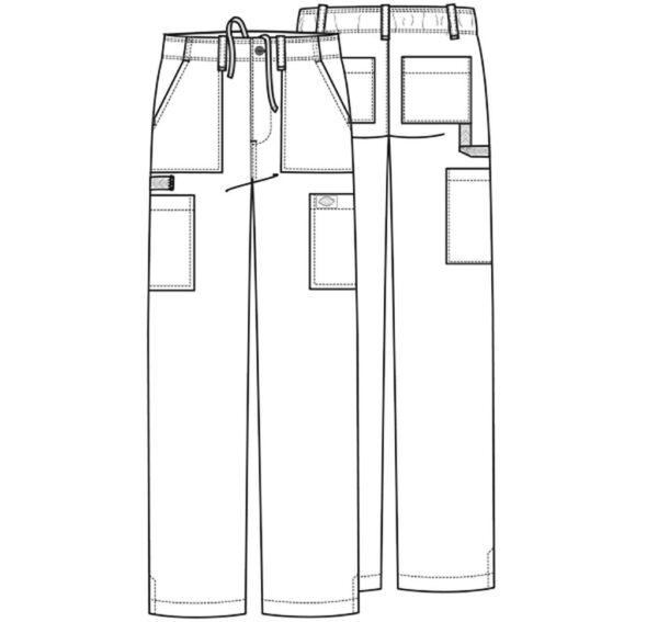 Spodnie meskie ( DK015 ) Dickies szkic